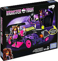 Конструктор Мега Блокс/Mega Bloks Монстер Хай Киномобиль Monster High (301 дет.), мегаблокс CNF82