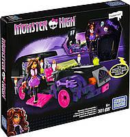 Конструктор Мега Блокс/Mega Bloks Монстер Хай Киномобиль Monster High (301 дет.), мегаблокс CNF82