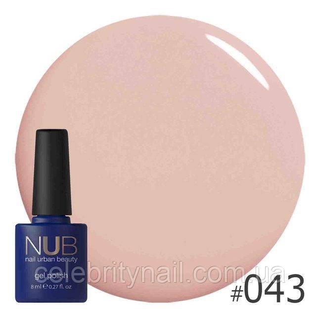 Гель-лак NUB Nail Conclealer 043
