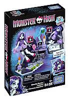Конструктор Редакция призрачной газеты с Спектрой Вондергейст Monster High, Mega Bloks/Мега Блокс (84 дет.)