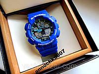 Спортивные супер часы Casio G Shock купить Касио Цвета синие и чёрные, фото 1