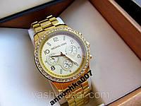 Модные стильные кварцевые женские часы Michael Kors, фото 1