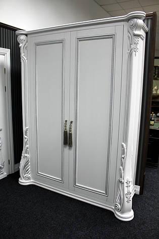 Деревянный шкаф (ольха,белый), фото 2