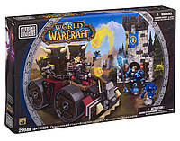 Конструктор World of Warcraft Осада. Машина для атаки, Mega Bloks, варкрафт мега блокс, мегаблокс (299 дет.)