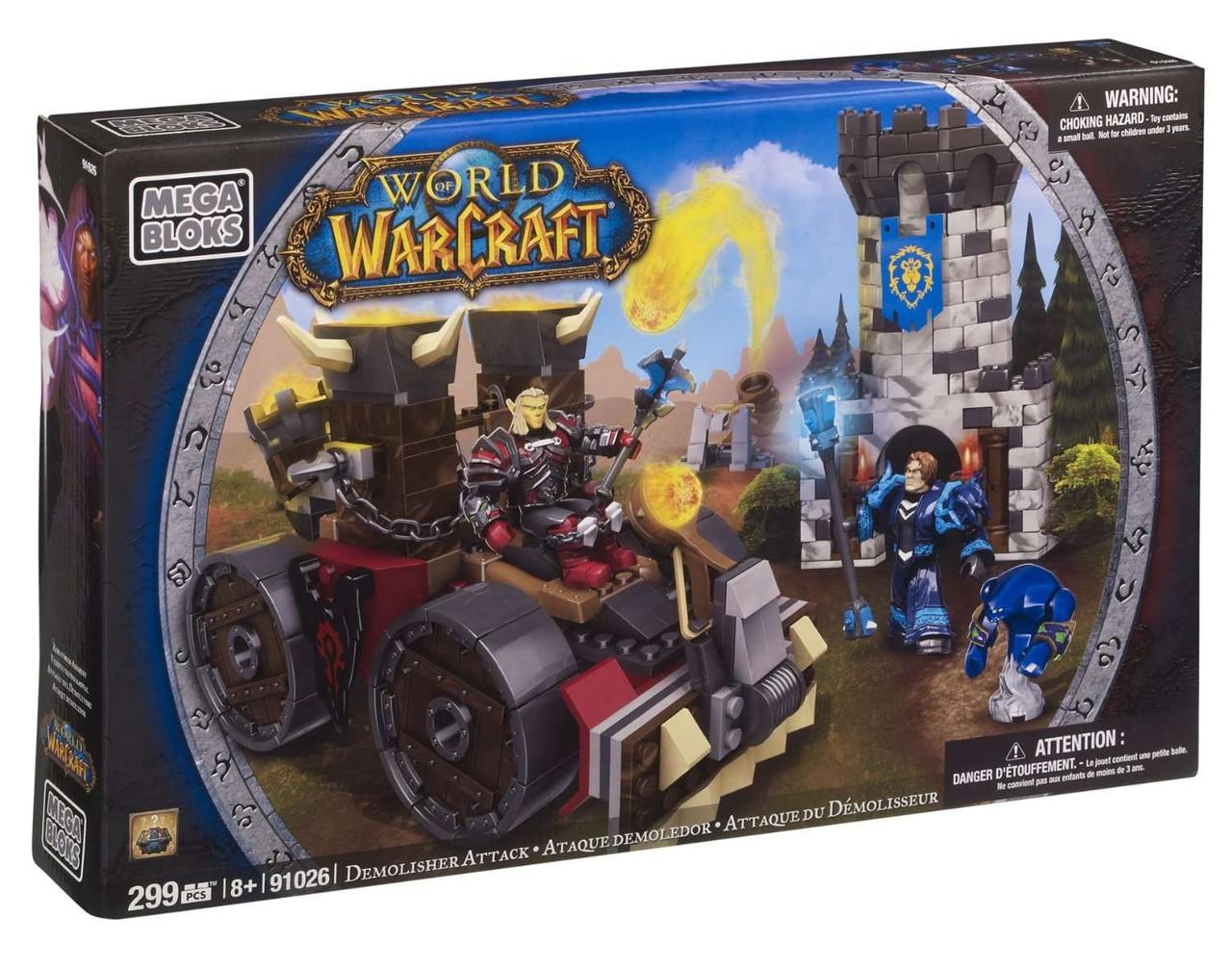 "Конструктор World of Warcraft Осада. Машина для атаки, Mega Bloks, варкрафт мега блокс, мегаблокс (299 дет.) - ""Toyexpress"" в Днепре"
