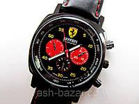 Модные кварцевые мужские часы FERRARI феррари с тремя циферблатами по суперцене, фото 1