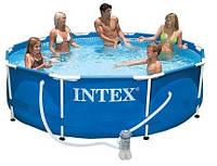 Intex 28202 Каркасный бассейн 305 х 76 см + насос-фильтр
