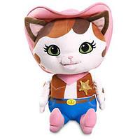 Мягкая игрушка Дисней/Disney Кошечка Келли- шериф «Шериф Келли и дикий запад» 30 см. 6005048411374P