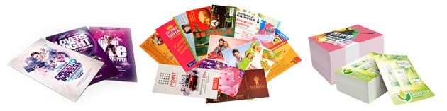 Стоимость печати листовок
