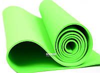 Коврик для йоги EVA 173см (0380) Зеленый