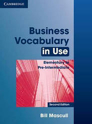 Business Vocabulary in Use: Elementary to Pre-intermediate 2nd Edition (с ответами)