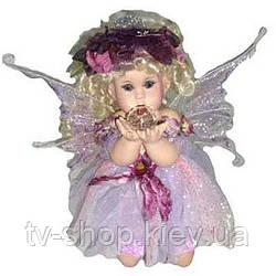 Порцелянова лялька Фея-чарівниця в ліловому