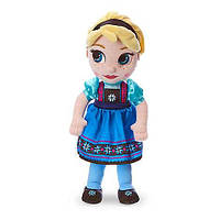 "Кукла Эльза 33 см. ""Холодное сердце"" Disney Animators' Collection Elsa Plush Doll - Frozen - Sma1233000440384P"