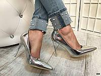 Женские туфли лодочки лаковые