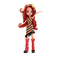 Кукла - модница Сансет Шиммер Девочки Эквестрии Радужный рок