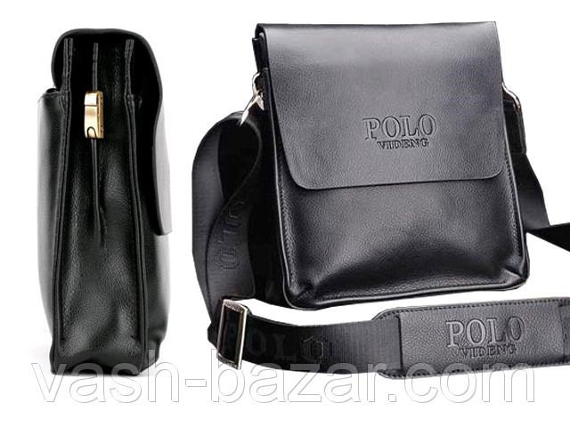 3f1b1c47e67f Мужская деловая Черная сумка планшет -