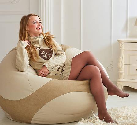 Кресло-мяч Euro, ткань Оксфорд (размеры: S, M, L), фото 2