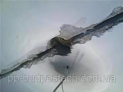 Як закрити щілини у стелі, Як замісити цемент для закладення великих щілин у стелі