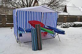 Стол торговый раскладной с укрытием, фото 3
