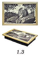 Лев, поднос-подушка, серия Романтика