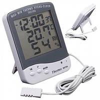 Гигрометр, термометр ТА218 с выносным датчиком темпиратуры и влажности