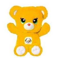 Мягкая игрушка мишка Лучик/ Озорник Заботливые мишки/ Care Bears 35 см, Желтый