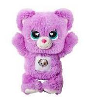 Мягкая игрушка мишка Милашка Заботливые мишки/ Care Bears 20 см, Лиловый)
