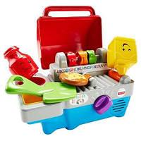 Музыкальная детская кухня гриль-кухня кухня для детей игрушечная кухня, Fisher-Price/Фишер Прайс CDJ20