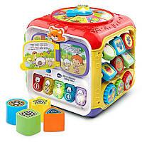 Музыкальный развивающий кубик для малышей, VTech