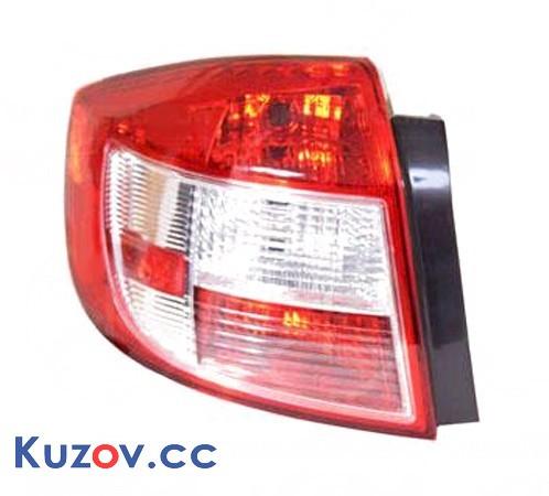 Фонарь задний Suzuki SX4 06- седан левый (Depo) 3567080J60000 3567080J60000