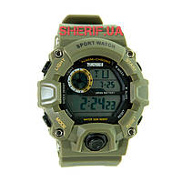 Часы Skmei 1019 Army Green BOX в подарочном боксе 1019BOXAG