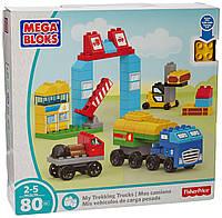 "Набор ""Мои грузовики-путешественники"" Mega Bloks (80 дет.)"