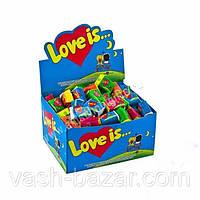 Жевательная резинка Love Is...Ассорти с 5-ти вкусов