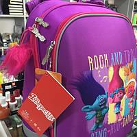 Рюкзак (ранец) школьный каркасный H-12 Trolls, 38*29*15, 554369