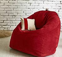 Кресло-мешок Smile, велюр (размеры: M, L)