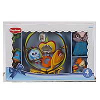 Подарочный развивающий набор игрушки мобиль развивающая дуга погремушка Tiny Love Тини лав TO010-0700