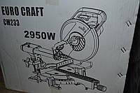 Пила торцювальна EURO CRAFT SM233, 2950W, фото 1