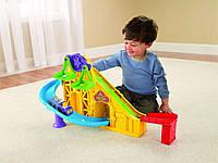 Детский развивающий игровой набор Подъемник – горка для машинок,Х7835 Fisher Price/Фишер прайс