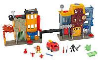 Развивающий Игровой набор для мальчиков Пожарная часть, X7669 Ficher Price/Фишер Прайс
