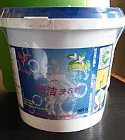 Супер чистота - универсальный безфосфатный концентрированный стиральный порошок без запаха (второй вид с цвето