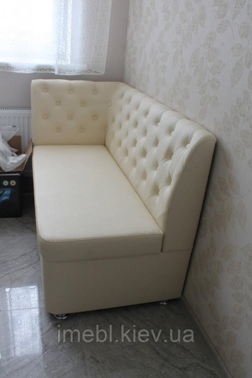 Мягкая мебель для кухни под заказ (Молочный цвет)