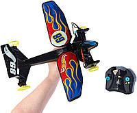 Самолет на радиоуправлении Хот Вилс Sky Shock RC (огненный дизайн), Hot Wheels, хот вилс, хотвилс FCP39
