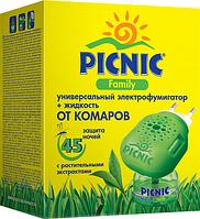 Picnic Family комплект: прилад + рідина 45 ночей