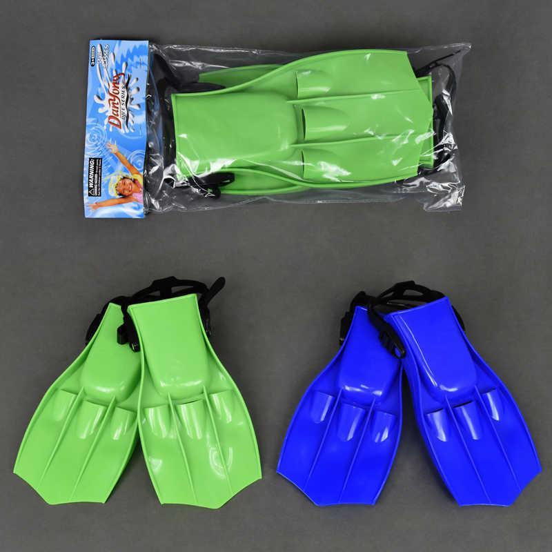 Ласты детские 6202 S зеленые