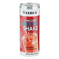 Weider Low Carb Protein Shake 250 ml Вейдер протеиновый коктейль