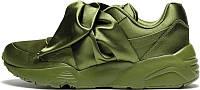 Женские кроссовки Puma Fenty By Rihanna Bow Sneaker Green 37