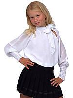 """Блузка детская для девочек  М-740  рост 128 134 140 146 152 и 158158 разный цветов тм """"Попелюшка"""""""