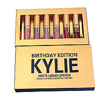 Набор жидких матовых помад Kylie Birthday Edition, 6 штук