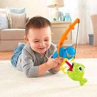 """Развивающий Игровой набор для малышей """"Рыбалка"""" удочка с рыбкой BFV11 Fisher Price/Фишер Прайс"""