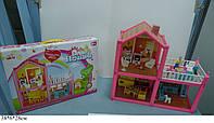 Кукольный дом 952 с куклами,мебелью